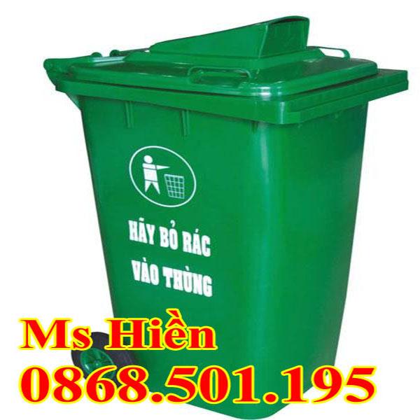 thùng rác công cộng 120l chất lượng uy tín giá rẻ nhất