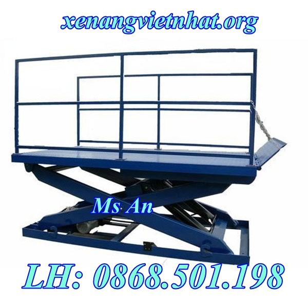 bàn nâng hàng hóa từ 1 đến 5 tấn