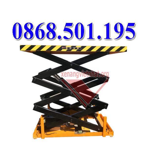 bàn nâng điện 2 tấn nhập khẩu
