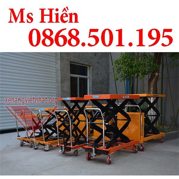 Bàn nâng điện di chuyển 350kg